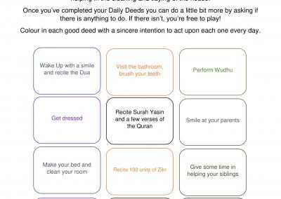 Daily Deeds