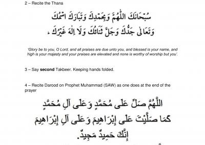 How to perform Janazah Salah