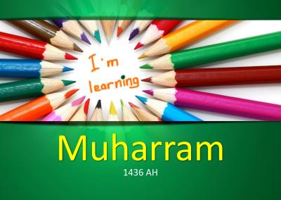 Muharram for Kids PPT