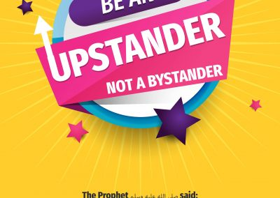 Be an Up-Stander – Poster