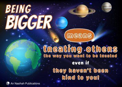 Being Bigger – Poster