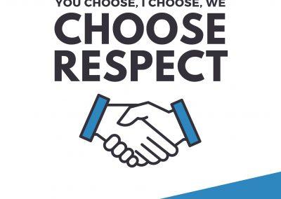 I Choose Respect – Poster