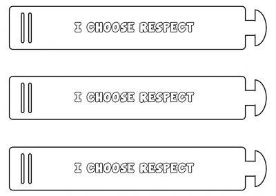 I Choose Respect – Bracelet