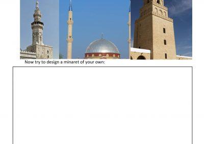 Design your own Minaret Activity