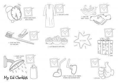 My Eid Checklist