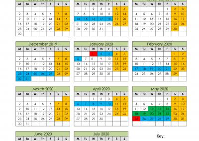 Annual Term Dates 2019/2020