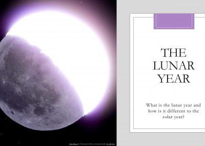 Lunar Calendar PPT