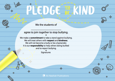 Pledge to be Kind