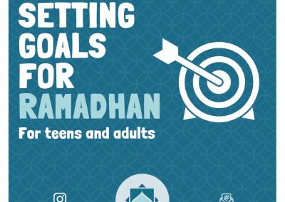 Preparing for Ramadan for Teens & Adults