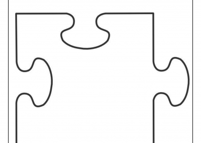 Anti Bullying Puzzle Template
