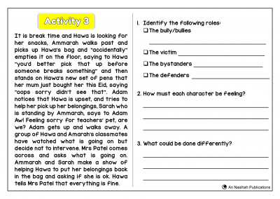 Anti Bullying Case Study and Scenario Development
