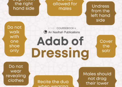 Adab of Dressing