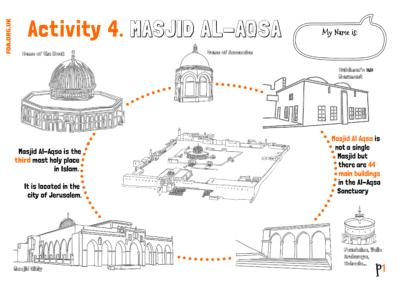 Aqsa Week Kids – Al-Isra Wal Miraj (Activity 4)